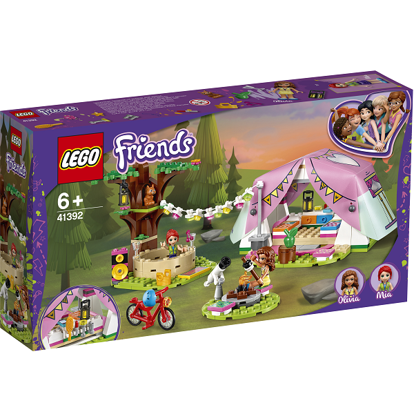 Image of   Luksuscamping i naturen - 41392 - LEGO Friends