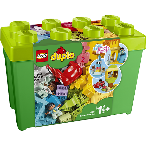 Image of Luksuskasse med klodser - 10914 - DUPLO Bricks & More (10914)