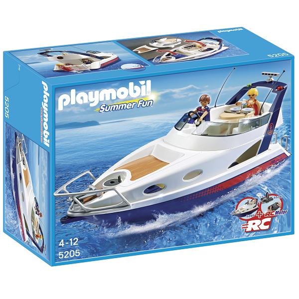 Image of Luxus Yacht - 5205 - PLAYMOBIL Summer Fun (PL5205)