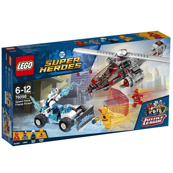 Lynhurtig iskold jagt - 76098 - LEGO Super Heroes