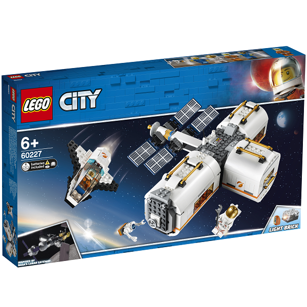 Image of Måne-rumstation - 60227 - LEGO City (60227)