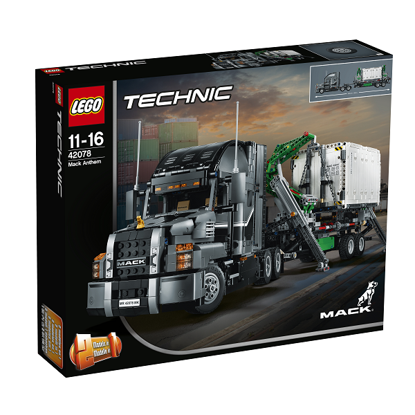 Image of   Mack Anthem - 42078 - LEGO Technic
