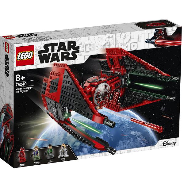 Image of Major Vonregs TIE-jager - 75240 - LEGO Star Wars (75240)