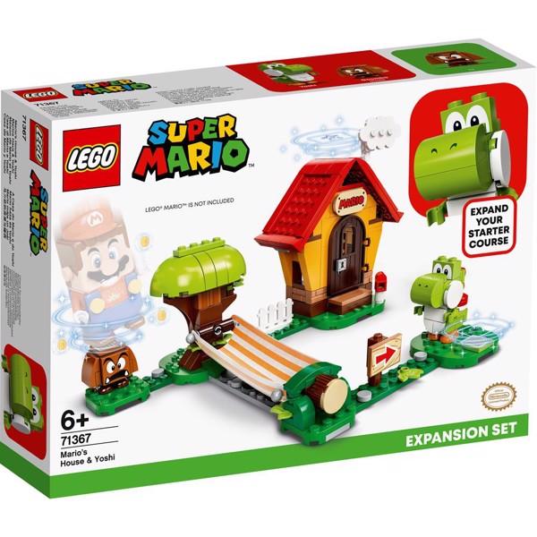 Image of Marios hus og Yoshi - udvidelsessæt - 71367 - LEGO Super Mario (71367)