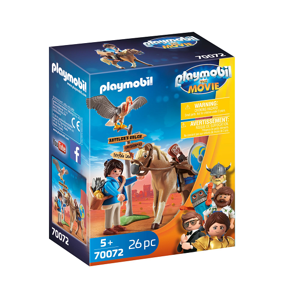 Image of   Marla med hest - PL70072 - PLAYMOBIL The Movie