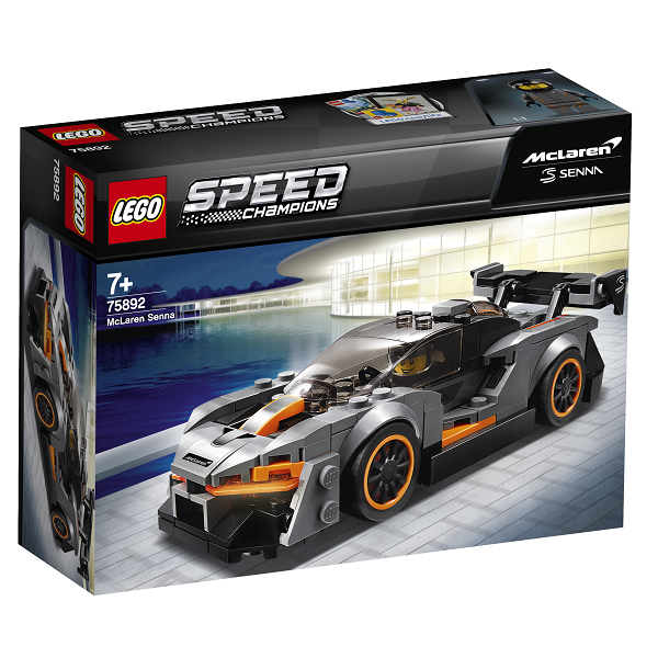 Image of McLaren Senna - 75892 - LEGO Speed Champions (75892)
