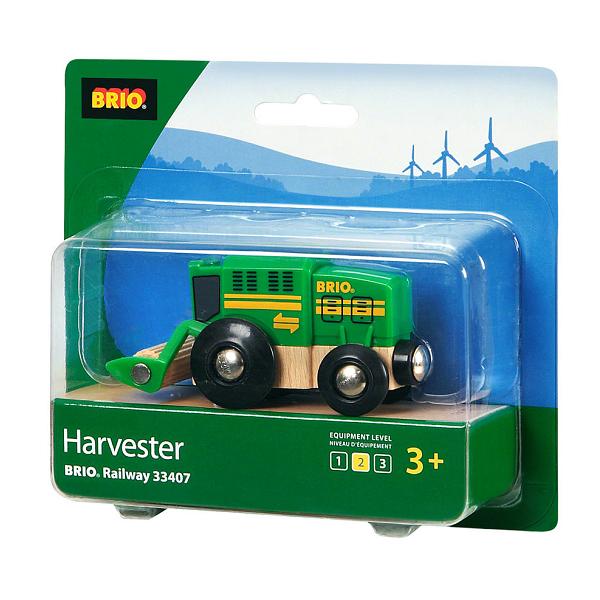 Mejetærsker - 33407 - BRIO Tog