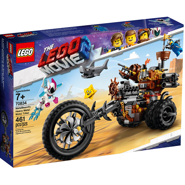 Image of MetalBeard's Heavy Metal Motor Trike! - 70834 - LEGO Movie 2 (70834)