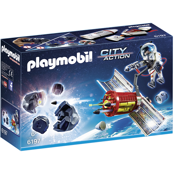 Image of Meteoroitknuser - PL6197 - PLAYMOBIL City Action (PL6197)