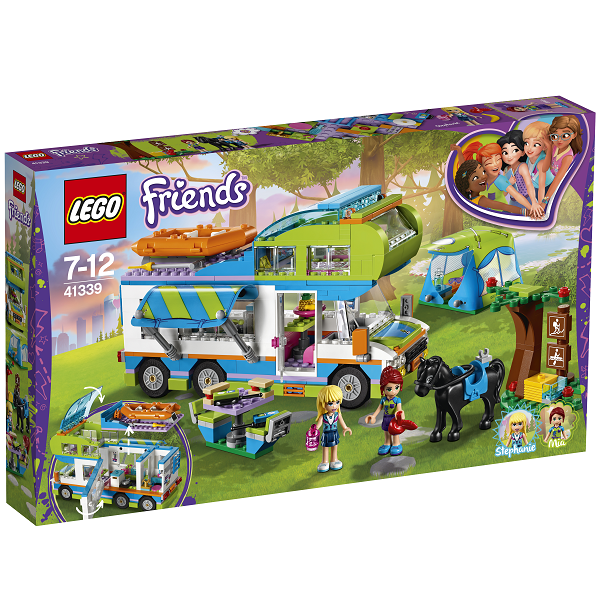 Image of Mias autocamper - 41339 - LEGO Friends (41339)