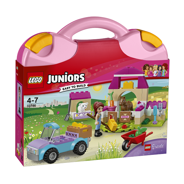 Image of Mias bondegårdskuffert - 10746 - LEGO Juniors (10746)