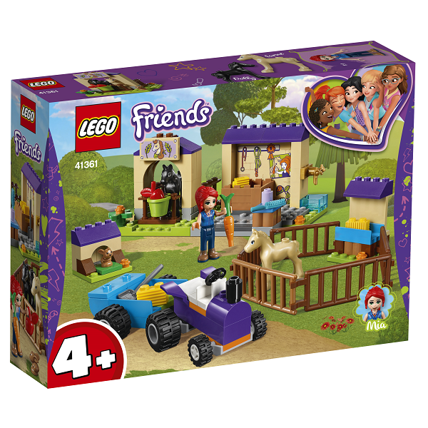 Image of Mias hestestald - 41361 - LEGO Friends (41361)