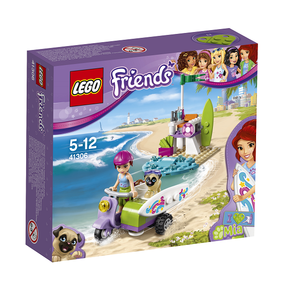 Image of Mias strandscooter - 41306 - LEGO Friends (41306)