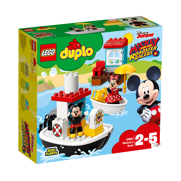 Image of Mickeys båd - 10881 - DUPLO (10881)