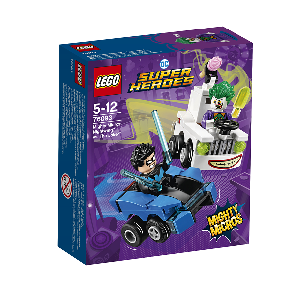 Image of Mighty Micros: Nightwing vs. The Joker - 76093 - LEGO Super Heroes (76093)