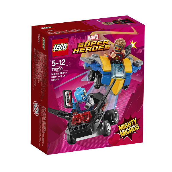 Image of Mighty Micros: Star-Lord vs. Nebula - 76090 - LEGO Super Heroes (76090)