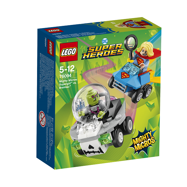 Image of Mighty Micros: Supergirl vs. Brainiac - 76094 - LEGO Super Heroes (76094)