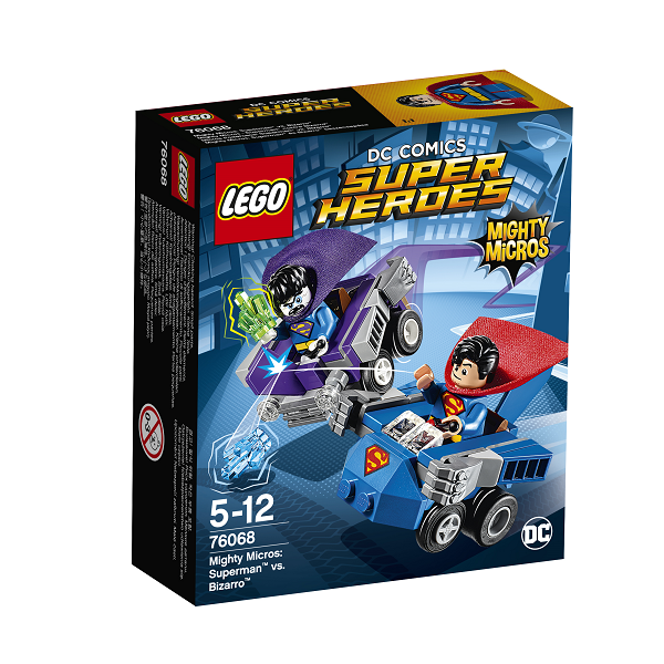 Mighty Micros: Superman mod Bizarro - 76068 - LEGO Super Heroes