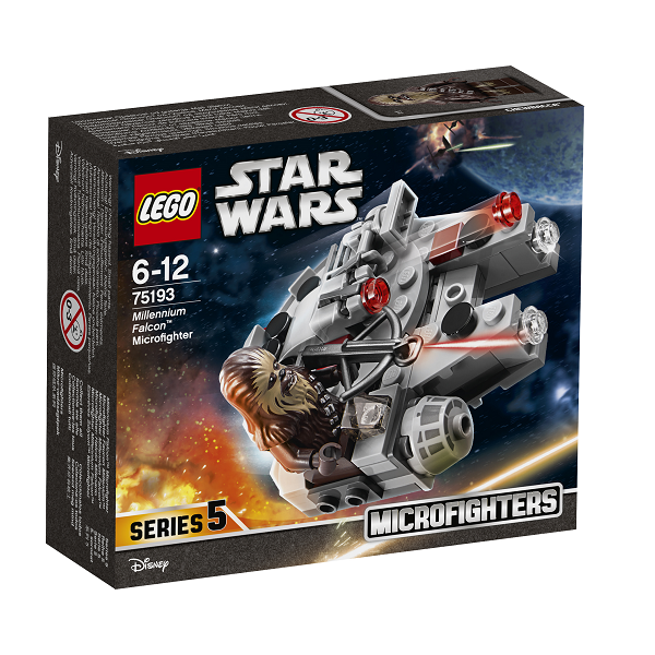 Image of Millennium Falcon Microfighter - 75193 - LEGO Star Wars (75193)