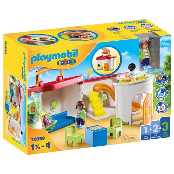 Image of Min bærbare børnehave - PL70399 - PLAYMOBIL 1.2.3 (PL70399)
