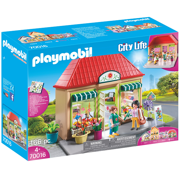 Image of   Min blomsterbutik - PL70016 - PLAYMOBIL City Life