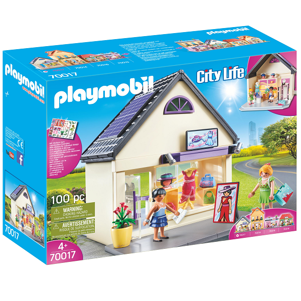 Image of Min modebutik - PL70017 - PLAYMOBIL City Life (PL70017)