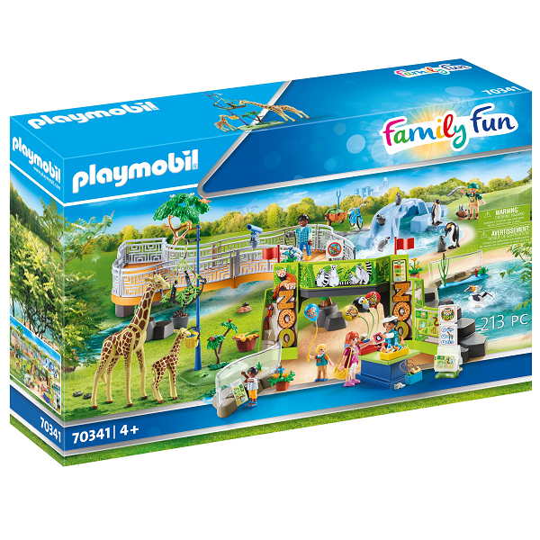 Image of Min store oplevelses-zoo - PL70341 - PLAYMOBIL Family Fun (PL70341)