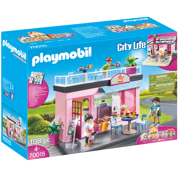 Image of   Min yndlingscafé - PL70015 - PLAYMOBIL City Life