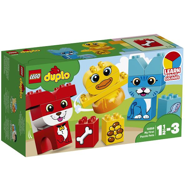 Image of Mine første puslerier - kæledyr - 10858 - LEGO DUPLO (10858)