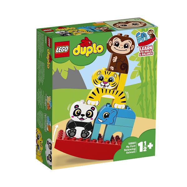 Image of Mine første vippedyr - 10884 - LEGO DUPLO (10884)