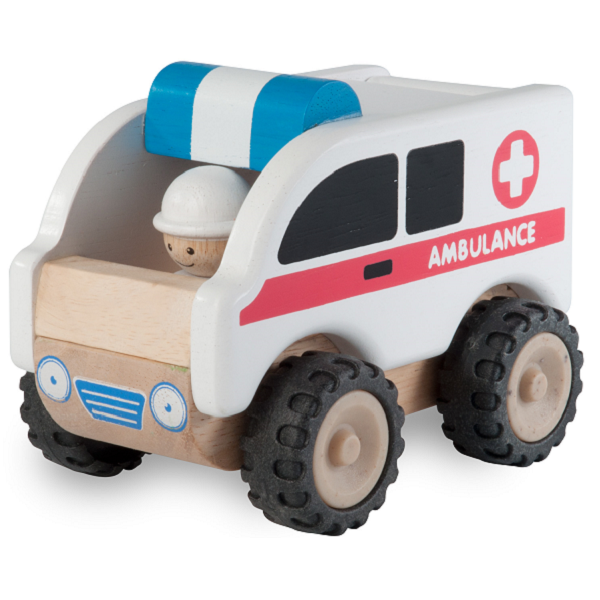 Image of Mini ambulance - Wonderworld (WW-4062)