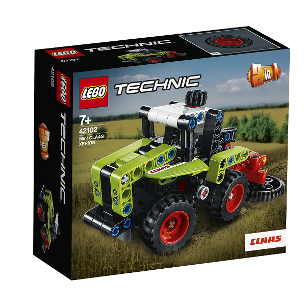 Image of   Mini CLAAS XERION - 42102 - LEGO Technic