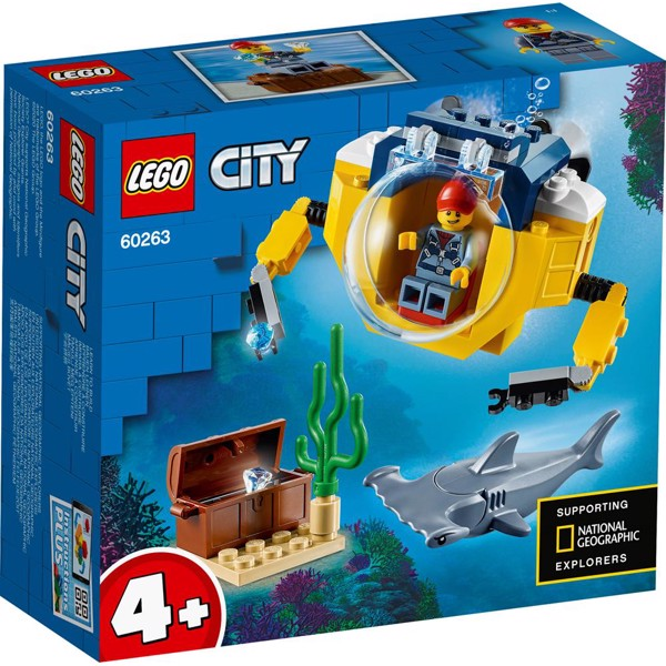 Image of Mini-ubåd - 60263 - LEGO City (60263)