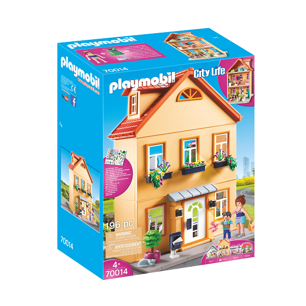 Image of Mit byhus - PL70014 - PLAYMOBIL City Life (PL70014)