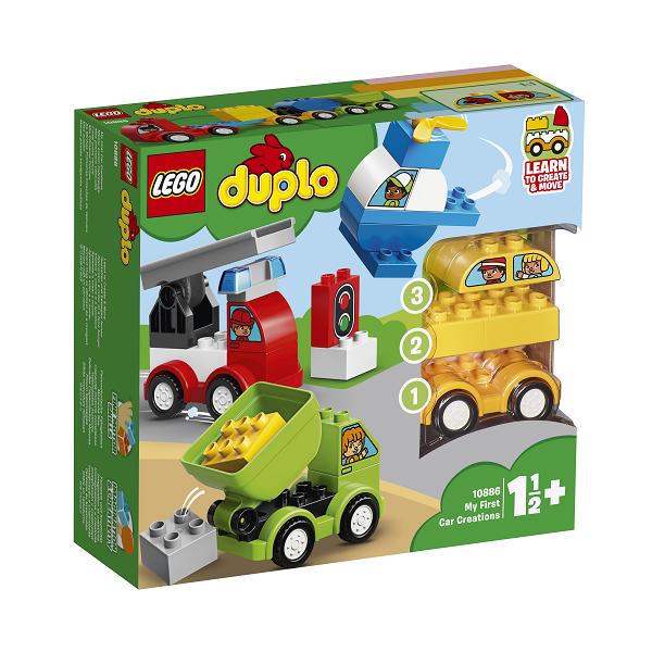 Image of Mine første bilmodeller - 10886 - LEGO DUPLO (10886)