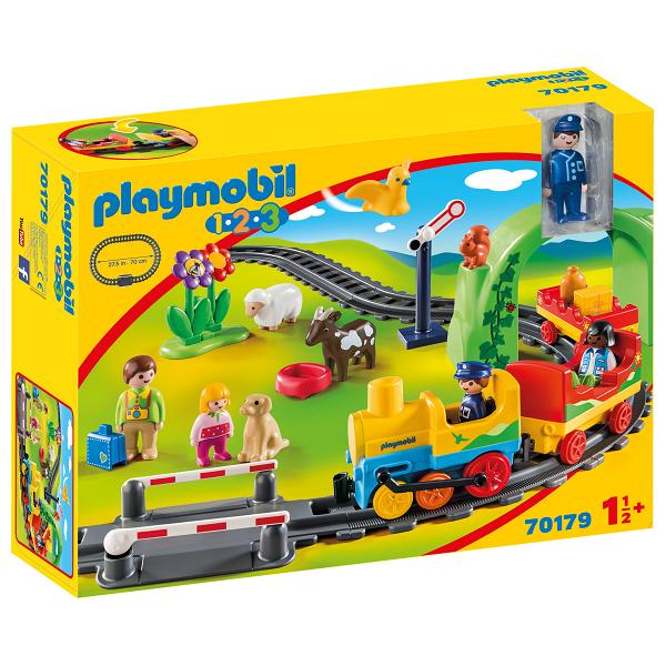 Image of   Mit første togsæt - PL70179 - PLAYMOBIL 1.2.3