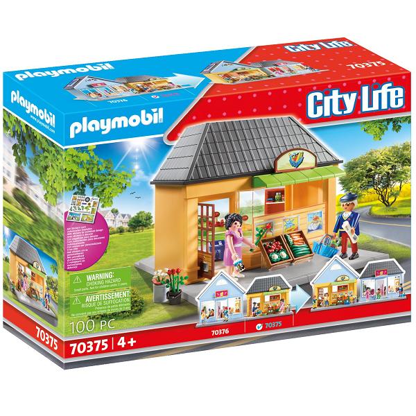 Image of Mit supermarked - PL70375 - PLAYMOBIL City Life (PL70375)