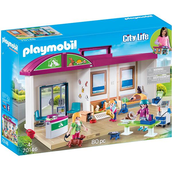 Image of Mobil dyrelægeklinik - PL70146 - PLAYMOBIL City Life (PL70146)