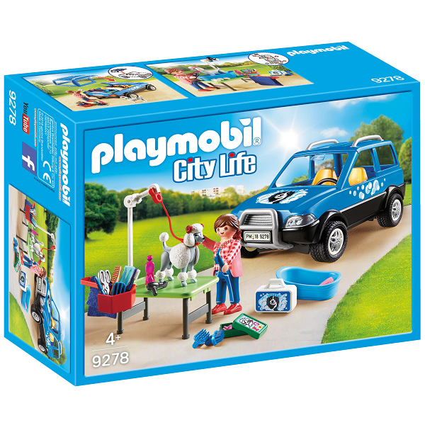 Image of   Mobil hundesalon - 9278 - PLAYMOBIL City Life