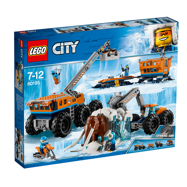 Image of Mobil polarforskningsbase - 60195 - LEGO City (60195)