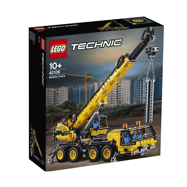 Image of   Mobilkran - 42108 - LEGO Technic