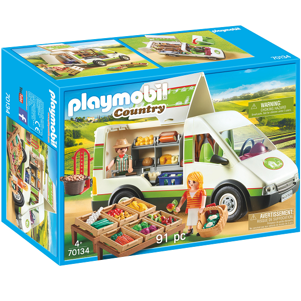 Image of Mobilt gårdmarked - PL70134 - PLAYMOBIL Country (PL70134)