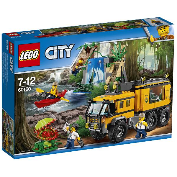 Image of Mobilt junglelaboratorium - 60160 - LEGO City (60160)