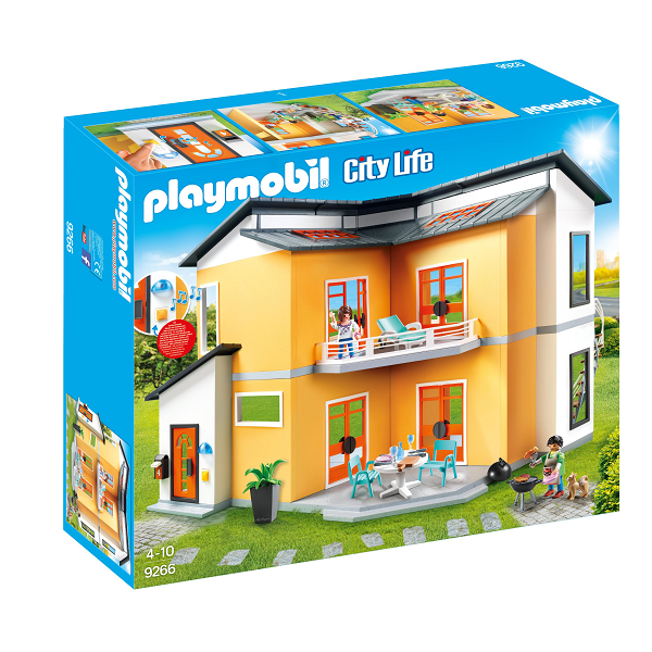 Image of   Moderne dukkehus - PL9266 - PLAYMOBIL City Life