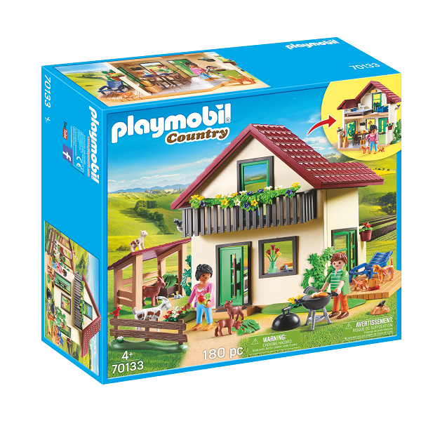 Image of Moderne gårdhus - PL70133 - PLAYMOBIL Country (PL70133)