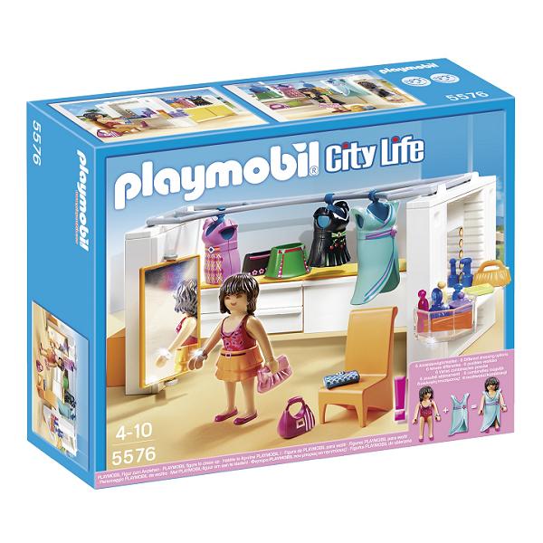 Image of Moderne påklædningsværelse - 5576- PLAYMOBIL City Life (PL5576)