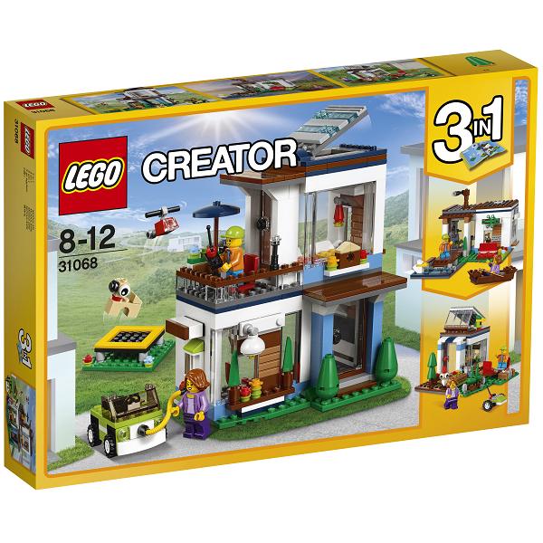 Image of Modulsæt: Moderne hjem - 31068 - LEGO Creator (31068)