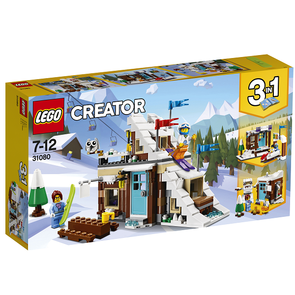 Image of Modulsæt: Vinterferie - 31080 - LEGO Creator (31080)
