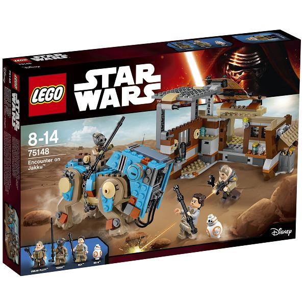 Mødet på Jakku - 75148 - LEGO Star Wars