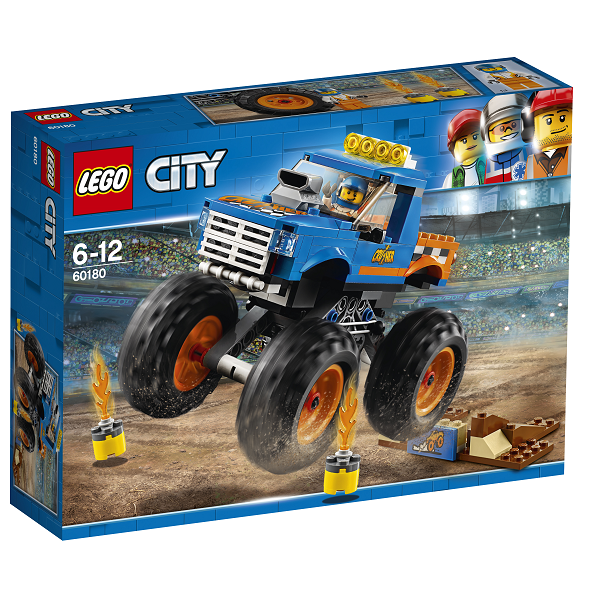Image of Monsterbil - 60180 - LEGO City (60180)